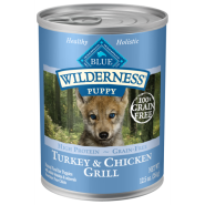 Blue Wilderness Dog GF Puppy Turkey & Chicken 12/12.5 oz