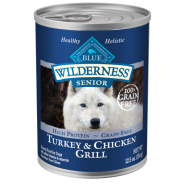 Blue Wilderness Dog GF Senior Turkey & Chicken 12/12.5 oz