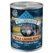 Blue Wilderness Dog GF Wolf Creek Stews Chicken 12/12.5 oz