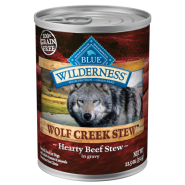 Blue Wilderness Dog GF Wolf Creek Stews Beef 12/12.5 oz