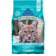 Blue Wilderness GF Cat Indoor Adult Hairball Chicken 5 lb