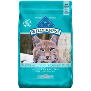 Blue Wilderness GF Cat Indoor Adult Hairball Chicken 11 lb