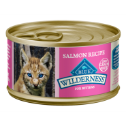 Blue Wilderness Cat Kitten Salmon 24/3 oz