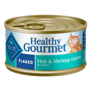 Blue Healthy Gourmet Cat Flaked Fish and Shrimp 24/3 oz