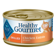 Blue Cat Healthy Gourmet Grilled Chicken in Gravy 24/3 oz