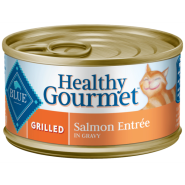 Blue Cat Healthy Gourmet Grilled Salmon in Gravy 24/3 oz