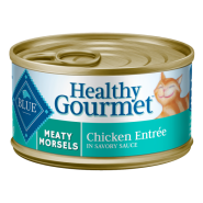 Blue Cat Healthy Gourmet Meaty Morsels Chicken 24/3 oz