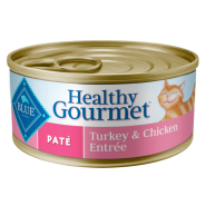Blue Cat Pate Adult Turkey & Chicken Entree 24/5.5 oz