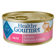 Blue Cat Pate Adult Indoor Salmon Entree 24/5.5 oz