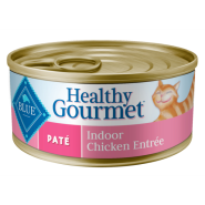 Blue Cat Pate Adult Indoor Chicken Entree 24/5.5 oz