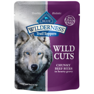 Blue Wilderness Dog Trail Toppers Wild Cuts GF Beef 24/3 oz