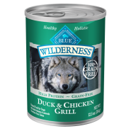 Blue Wilderness Dog GF Adult Duck&Chicken 12/12.5 oz