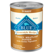 Blue Dog Homestyle Turkey Meatloaf 12/12.5 oz