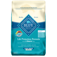 Blue Dog LPF Adult Natural Fish & Oatmeal Large Breed 30 lb