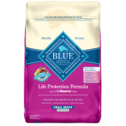 Blue Dog LPF Senior Natural Ckn & BnRice Small Breed 15 lb