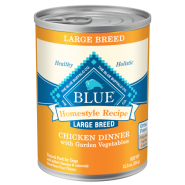 Blue Homestyle Dog Lg Breed Chicken & BnRice 12/12.5 oz