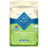 Blue Dog LPF Adult Small Breed Lamb & Bn Rice 15 lb