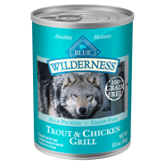 Blue Wilderness Dog GF Trout & Chicken Grill 12/12.5 oz