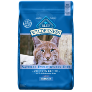 Blue Wilderness GF Cat Indoor Chicken 11 lb