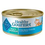 Blue Cat Healthy Gourmet Meaty Morsels Chicken 24/5.5 oz