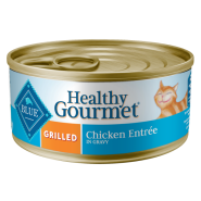 Blue Cat Healthy Gourmet Grilled Chicken in Gravy 24/5.5 oz