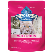 Blue Wilderness Cat Wild Tasty Toppers Salmon 24/3 oz