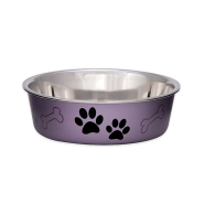 Bella Bowls Large Metallic Grape