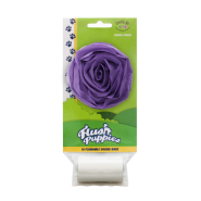 Flush Puppies Pouch Rose Purple + 1 Roll 10 bags per roll