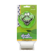 Flush Puppies Pouch Alligator + 1 Roll 10 bags per roll