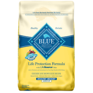 Blue Dog LPF Adult Healthy Weight Chicken & BnRice 15 lb