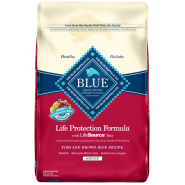 Blue Dog LPF Adult Fish & Brown Rice 15 lb
