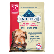 Blue Dog Dental Bones REG 12 oz