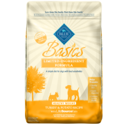 Blue Basics LID Dog Adult Turkey&Potato Healthy Wt 24 lb