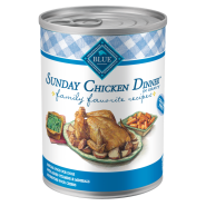 Blue Family Favorites Dog Sunday Chicken Dinner 12/12.5 oz
