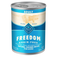 Blue Freedom GF Dog Adult Chicken 12/12.5 oz