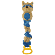 Petlinks Tug-Ables Raccoon Toy