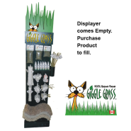 Giggle Grass Wood Empty Displayer