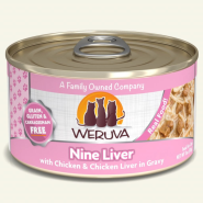 Weruva Cat Nine Liver 24/3 oz