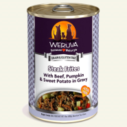 Weruva Dog Steak Frites 12/14 oz