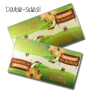 Pumpkin Patch up Shelf Talker