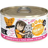 Best Feline Friends Tuna & Salmon Soulmates 24/3 oz