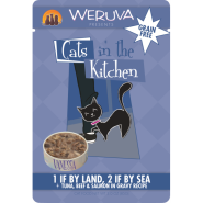 Cats in Kitchen 1 if By Land 2 if By Sea 8/3 oz Pouch