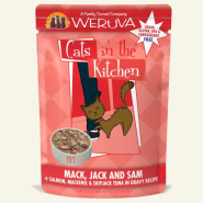 Weruva Cats in the Kitchen Mack Jack & Sam 12/3 oz Pouch