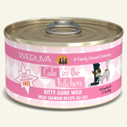 Weruva Cats in the Kitchen Kitty Gone Wild Salmon 24/3.2 oz