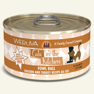 Weruva Cats in the Kitchen Fowl Ball 24/3.2 oz