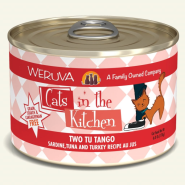 Weruva Cats in the Kitchen Two Tu Tango 24/6 oz