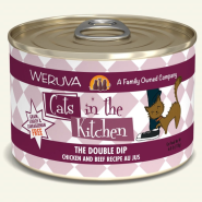 Cats in Kitchen The Double Dip 24/6 oz