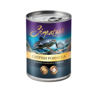 Zignature Dog LID GF Catfish 12/13 oz