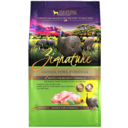 Zignature Dog LID GF Guinea Fowl 13.5 lb