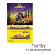 Zignature Dog LID GF Turkey Small Bites Trials 24/4 oz
